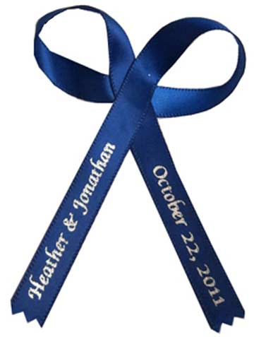 Royal Blue Favor Ribbon