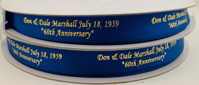 Personalized Satin Ribbon
